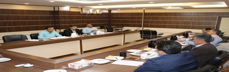 برگزاری سومین نشست شورای پارک استان/معرفی مدیر مرکز رشد پارک یاسوج