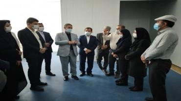 کارگاه تولید ماسک سه لایه پزشکی پارک علم و فناوری افتتاح شد