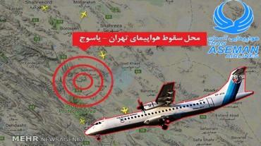 پیام تسلیت رییس پارک علم و فناوری کهگیلویه و بویراحمد در پی سانحه سقوط هواپیمای مسافر بری تهران - یاسوج
