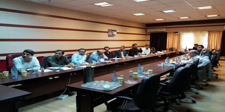 پنجمین جلسه کمیته تخصصی شورای پارک علم و فناوری استان جهت بررسی صلاحیت شرکت های متقاضی ورود به پارک برگزار شد