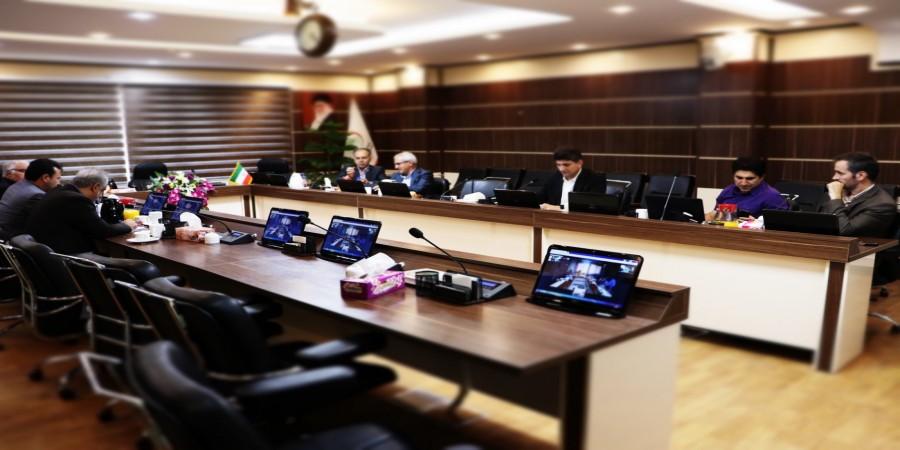 برگزاری کمیسیون دائمی هیات امنا بصورت ویدئو کنفرانس