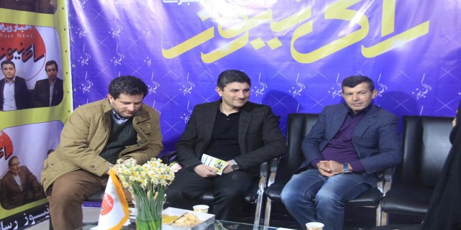 بازدید از نمایشگاه مطبوعات استان/ گزارش تصویری