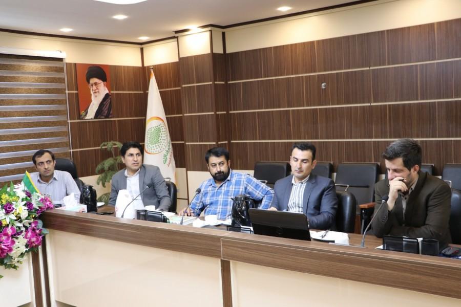 حضور اتاق خبر صدا وسیمای استان در پارک علم و فناوری